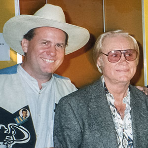 With George Jones