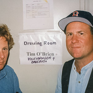 With Tim O'Brien